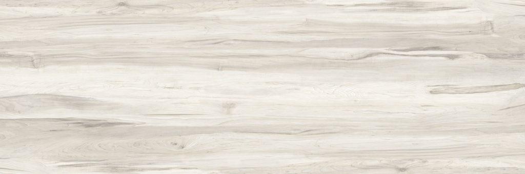 Hochbett in Weiß, Holz Maserung