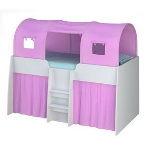 Polini Hochbett Set Pink