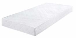 Badenia Bettcomfort Roll-Komfortmatratze, Trendline BT 100, Härtegrad 2, 140 x 200 cm, weiß - 1