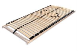 Betten-ABC Lattenrost Max 1 NV zur Selbstmontage/Lattenrahmen in 90 x 200 cm mit 28 Leisten und Mittelzonenverstellung - geeignet für alle Matratzen - 1