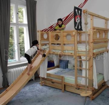 Etagenbett aus Massivholz für Kinder (Billi-Bolli)   Kinderbett, Stockbett