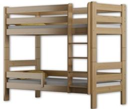 Etagenbett Sophie, für zwei Schlafende, Bettrahmen aus Kiefernholz, 180 x 80 cm, holz, kiefer, 180x80 - 1
