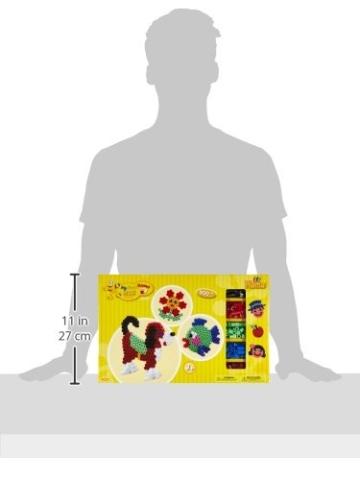 Hama 8712 - Gigantische Geschenkpackung, ca. 900 Maxi-Bügelperlen, 2 Stiftplatten und Zubehör - 3