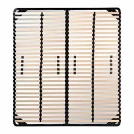 i-flair® Lattenrost 140x200 cm, Lattenrahmen für alle Matratzen geeignet - alle Größen - 1