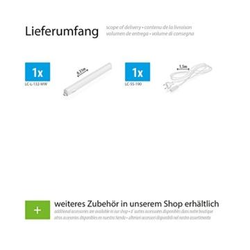 parlat LED Unterbau-Leuchte Rigel, 31,3cm, 380lm, warm-weiß - 2
