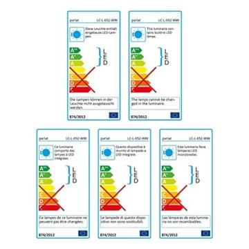 parlat LED Unterbau-Leuchte Rigel, 31,3cm, 380lm, warm-weiß - 7