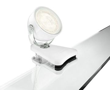 Philips myLiving LED Klemmspot Dyna, EEK A+, weiß - 1