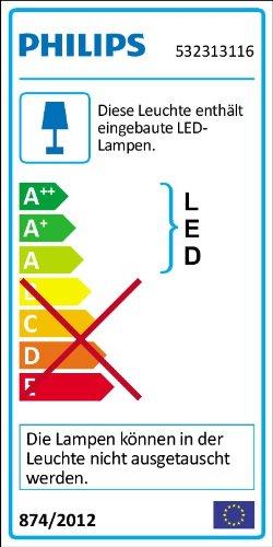 Philips myLiving LED Klemmspot Dyna, EEK A+, weiß - 2