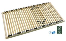 Pro-Manufactur 7-Zonen-Lattenrost starr 140x200 cm mit individueller Härtegradverstellung - 1