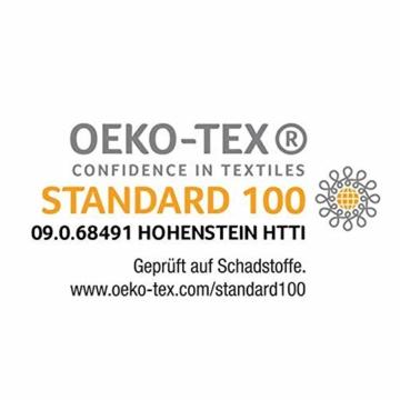 Ravensberger Matratzen Natur-Latex 7-Zonen-Premium-Latexmatratze | H2 RG 75 (45-80 kg) | Made IN Germany | LATEXCO®-Stiftlatex mit 85% Naturkautschuk | Baumwoll-Doppeltuch-Bezug | 90 x 200 cm - 2