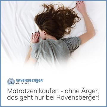 Ravensberger Matratzen Natur-Latex 7-Zonen-Premium-Latexmatratze | H2 RG 75 (45-80 kg) | Made IN Germany | LATEXCO®-Stiftlatex mit 85% Naturkautschuk | Baumwoll-Doppeltuch-Bezug | 90 x 200 cm - 9