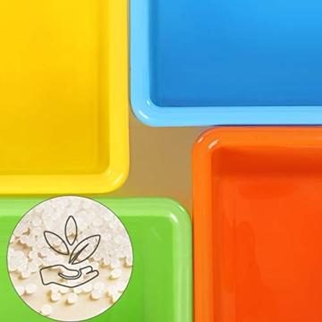SONGMICS Kinderregal, Kinderzimmerregal, Spielzeugregal, Spielzeugaufbewahrung für Kinder, Aufbewahrungsregal für Spielzeug, Ordnungsregal mit Aufbewahrungsboxen, mehrfarbig GKR04W - 7