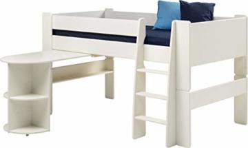 Steens Anbau-Schreibtisch mit Regal for Kids MDF Wei? deckend|MDF Wei? deckend - 2