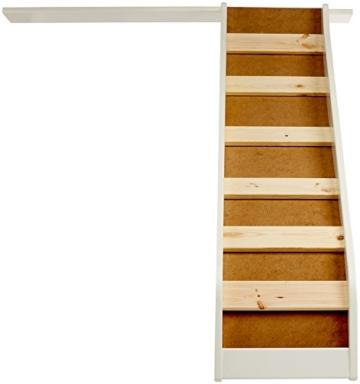 Steens For Kids Rutsche für Kinderbett, Hochbett, inkl. Absturzsicherung, 145 x 112 x 141 cm (B/H/T), MDF , weiß - 3