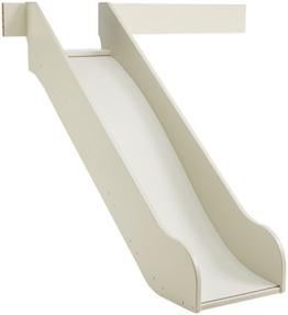 Steens For Kids Rutsche für Kinderbett, Hochbett, inkl. Absturzsicherung, 145 x 112 x 141 cm (B/H/T), MDF , weiß - 1