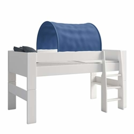 Steens For Kids Tunnelzelt für Kinderbett, Hochbett, 88 x 69 x 91 cm (B/H/T), Baumwolle, blau - 1