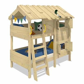WICKEY Kinderbett Abenteuerbett CrAzY Cherry Spielbett 90x200 cm Einzelbett Bett - 2