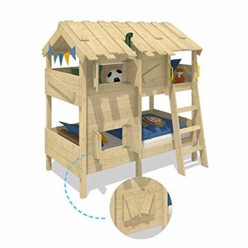 WICKEY Kinderbett Abenteuerbett CrAzY Cherry Spielbett 90x200 cm Einzelbett Bett - 3