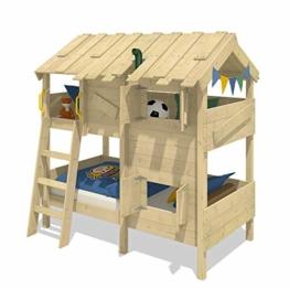 WICKEY Kinderbett Abenteuerbett CrAzY Cherry Spielbett 90x200 cm Einzelbett Bett - 1