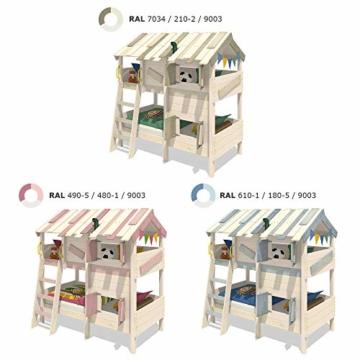 WICKEY Kinderbett Abenteuerbett CrAzY Cherry Spielbett 90x200 cm Einzelbett Bett - 4