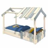 WICKEY Kinderbett 'CrAzY Beach' - Bodentiefes Spielbett - Einzelbett - 90x200 cm - 1