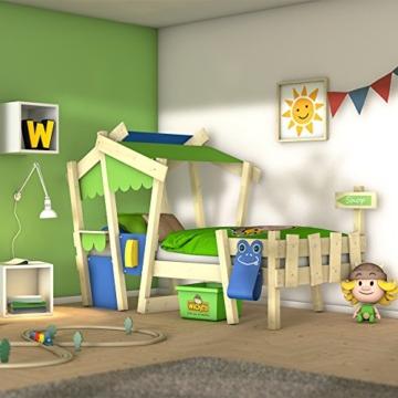 WICKEY Kinderbett 'CrAzY Candy' - Einzelbett in verschiedenen Farbkombinationen - 90x200 cm - 1