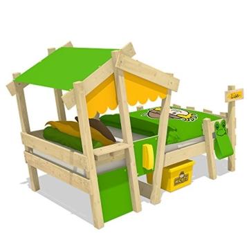 WICKEY Kinderbett 'CrAzY Candy' - Einzelbett in verschiedenen Farbkombinationen - 90x200 cm - 3