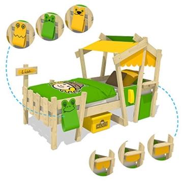 WICKEY Kinderbett 'CrAzY Candy' - Einzelbett in verschiedenen Farbkombinationen - 90x200 cm - 4