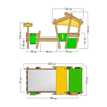 WICKEY Kinderbett 'CrAzY Candy' - Einzelbett in verschiedenen Farbkombinationen - 90x200 cm - 7
