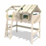 WICKEY Kinderbett 'CrAzY Cove' - Hochbett - Spielbett - 90x200 cm - 1