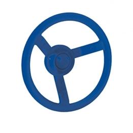 WICKEY Lenker Lenkrad Steuerrad für Spielturm Spielanlage, Ø300mm, blau - 1