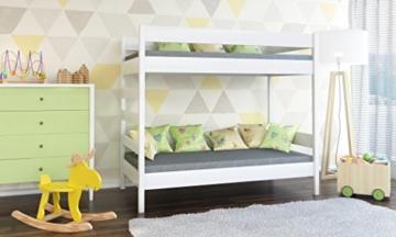 WNM Group Kinderbett, Dino D2 Etagenbett mit Zwei Lattenroste - 2