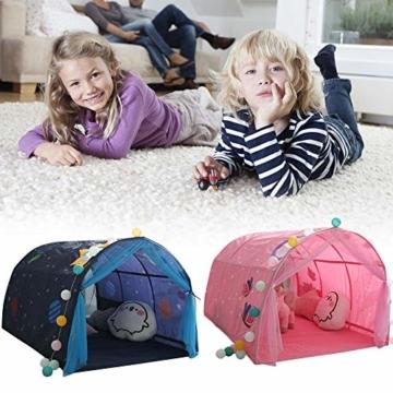 Currentiz Kinder Tunnel für Hochbett Bett Zelt Spielbett Breite Spielbett Etagenbett Schlafzimmer Dekoration Für Kinder - 5