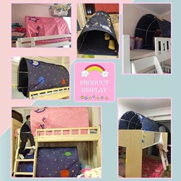 Currentiz Kinder Tunnel für Hochbett Bett Zelt Spielbett Breite Spielbett Etagenbett Schlafzimmer Dekoration Für Kinder - 6