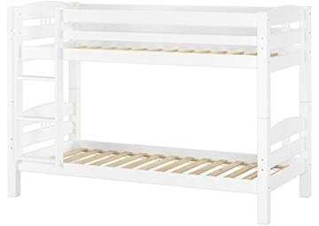 Erst-Holz® Etagenbett Kiefer waschweiß 90x200 mit Rollrost Bettkasten Kinderstockbett Hohes Bett 60.10-09WS7 - 3