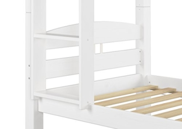 Erst-Holz® Etagenbett Kiefer waschweiß 90x200 mit Rollrost Bettkasten Kinderstockbett Hohes Bett 60.10-09WS7 - 4