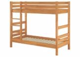 Erst-Holz® Etagenbett Stockbett Buche Natur massiv 90x200 Hochbett mit 2 Rollroste 60.17-09 - 1