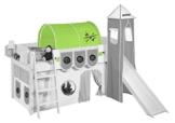 Lilokids Tunnel Dragons Grün - für Hochbett, Spielbett und Etagenbett - 1