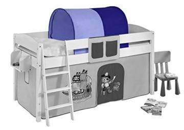 Lilokids Tunnel Pirat Blau - für Hochbett, Spielbett und Etagenbett - 1