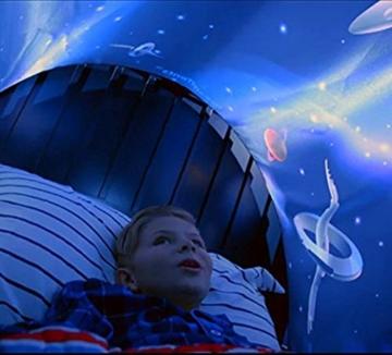 Nifogo Traumzelt,Bettzelt, Dream Tent,Drinnen Kinder, Kid's Fantasy, Kinder Schlafzimmer Dekoration,Geschenke für Kinder (Universum) - 2