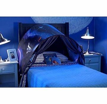 Nifogo Traumzelt,Bettzelt, Dream Tent,Drinnen Kinder, Kid's Fantasy, Kinder Schlafzimmer Dekoration,Geschenke für Kinder (Universum) - 4