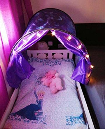 Nifogo Traumzelt,Bettzelt, Dream Tent,Drinnen Kinder, Kid's Fantasy, Kinder Schlafzimmer Dekoration,Geschenke für Kinder (Universum) - 8