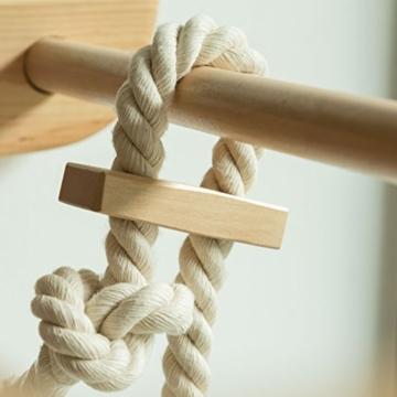 Turnwand Kinder Gym Klettergerüst ˝Kinder-3-220-Farbe˝ Holz Sportgerät Kletterwand Sprossenwand mit Stange Fitness - 7