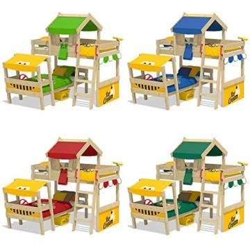 WICKEY Kinderbett 'CrAzY Trunky' - Etagenbett im Safari-Look - Spielbett – 90x200 cm - 4