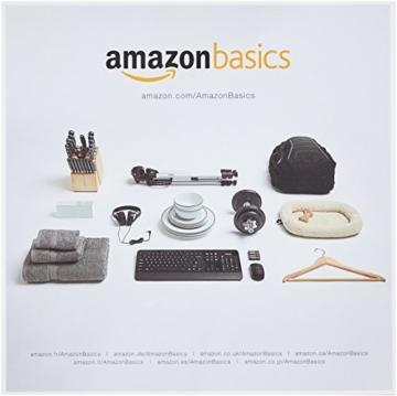 AmazonBasics Kissen mit Baumwollbezug, 65 x 65 cm, Packung mit 2 Stück - 3