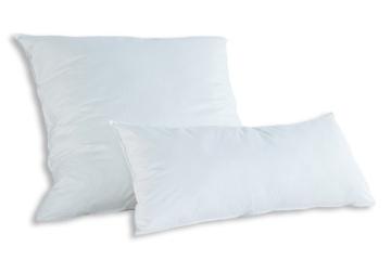 Badenia Bettcomfort Kopfkissen Trendline Comfort mit Baumwollbezug, 80 x 80 cm, weiß - 3