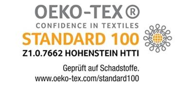 Badenia Bettcomfort Kopfkissen Trendline Comfort mit Baumwollbezug, 80 x 80 cm, weiß - 4
