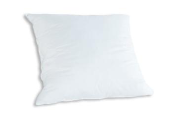 Badenia Bettcomfort Kopfkissen Trendline Comfort mit Baumwollbezug, 80 x 80 cm, weiß - 1