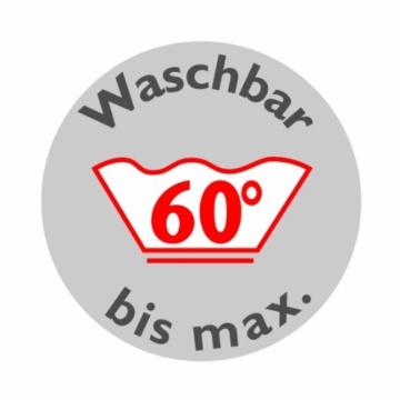 Badenia Bettcomfort Kopfkissen Trendline Comfort mit Baumwollbezug, 80 x 80 cm, weiß - 5