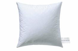 Billerbeck Soft-Down 15 Kopfkissen, Baumwolle, weiß, 80x80 - 1